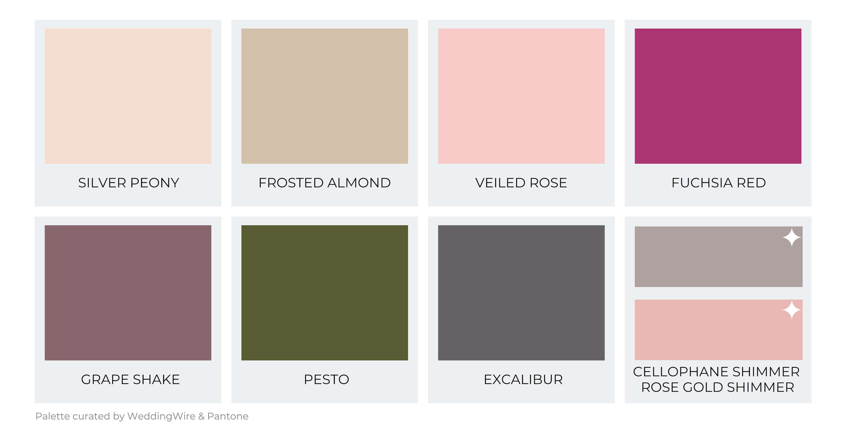 Color Palette #1 - Love In Bloom
