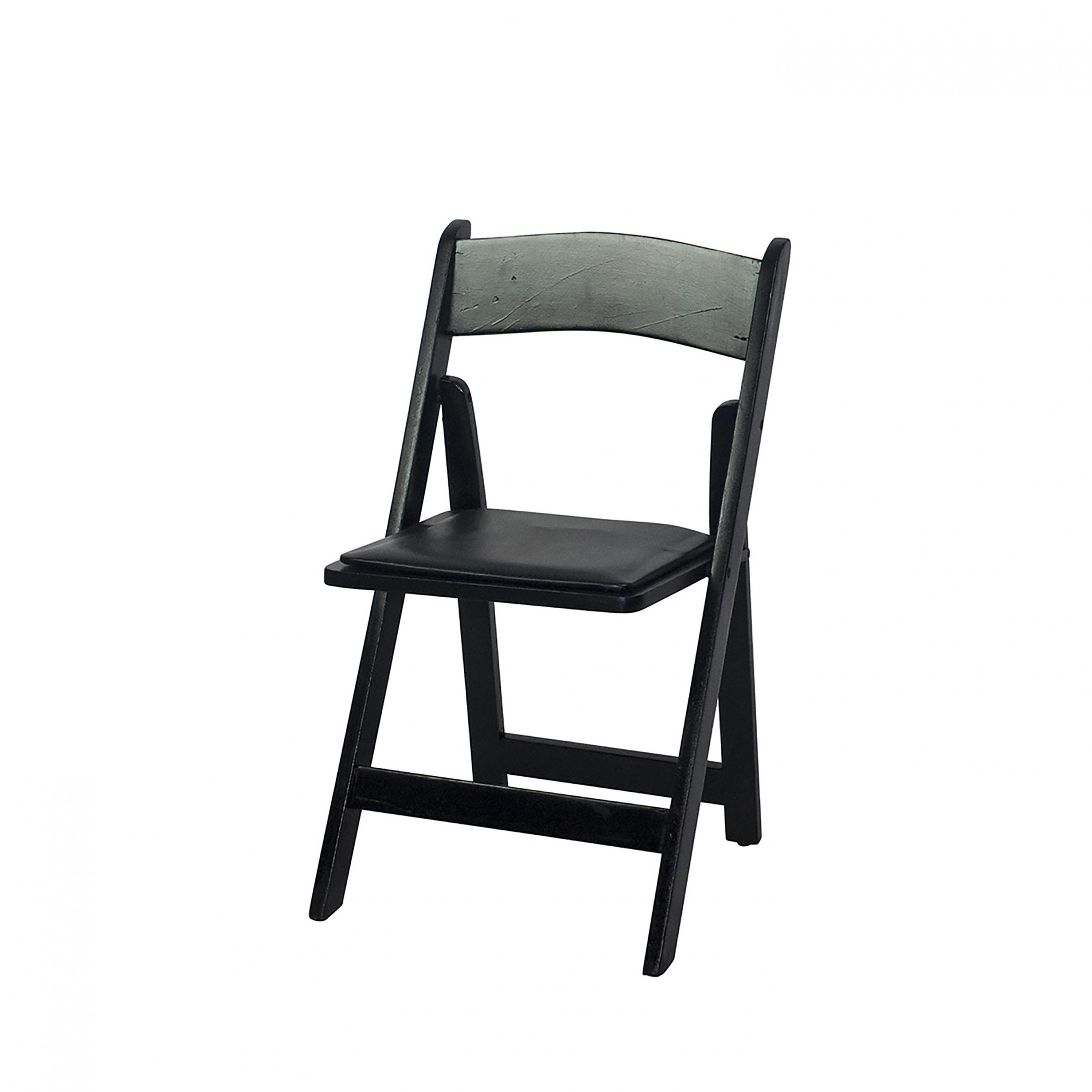 Garden Resin Black Chair | Peak Event Services
