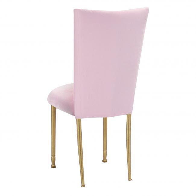 Fantastic Velvet Soft Pink Fanfare Chameleon Chair Topper Peak Bralicious Painted Fabric Chair Ideas Braliciousco