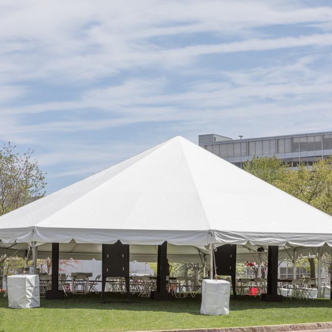 Commencement & Graduation Tents | Peak Event Services