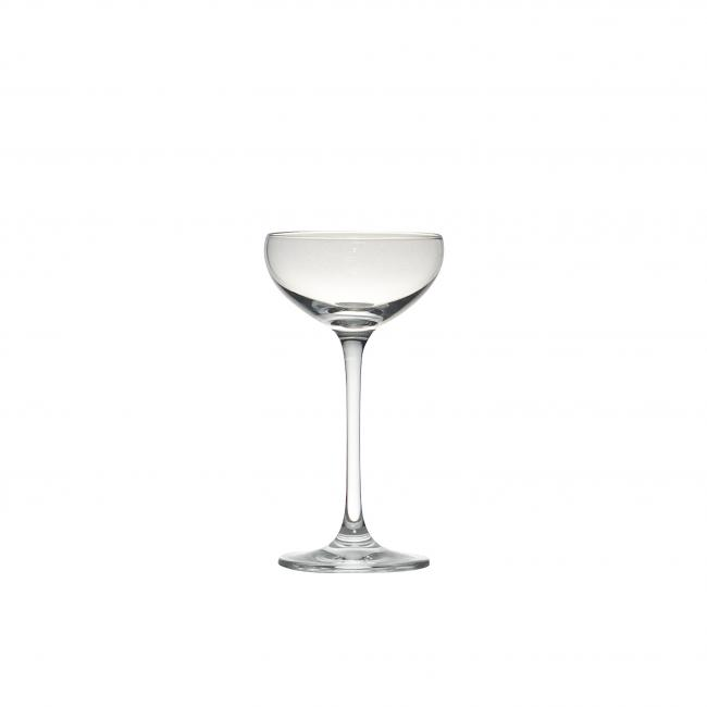 2oz Mini Champagne Coupe Saucer Style 36rack Peak Event Services